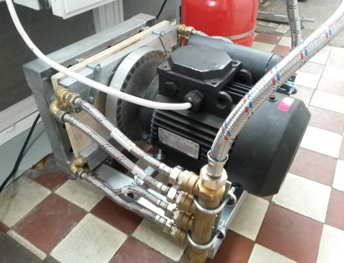 Индукционный нагреватель с постоянными магнитами