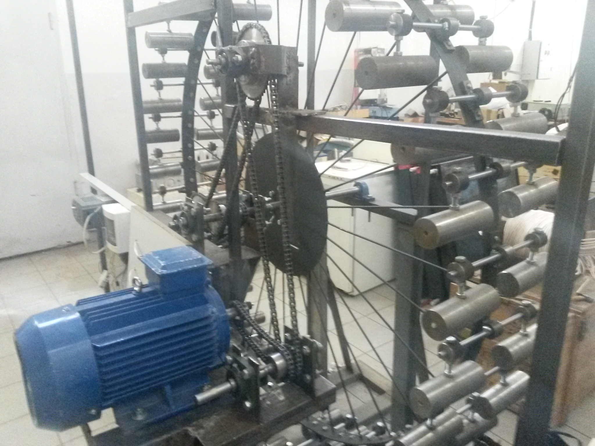 Попытка построить гравитационный мотор (ВИЭСХ)