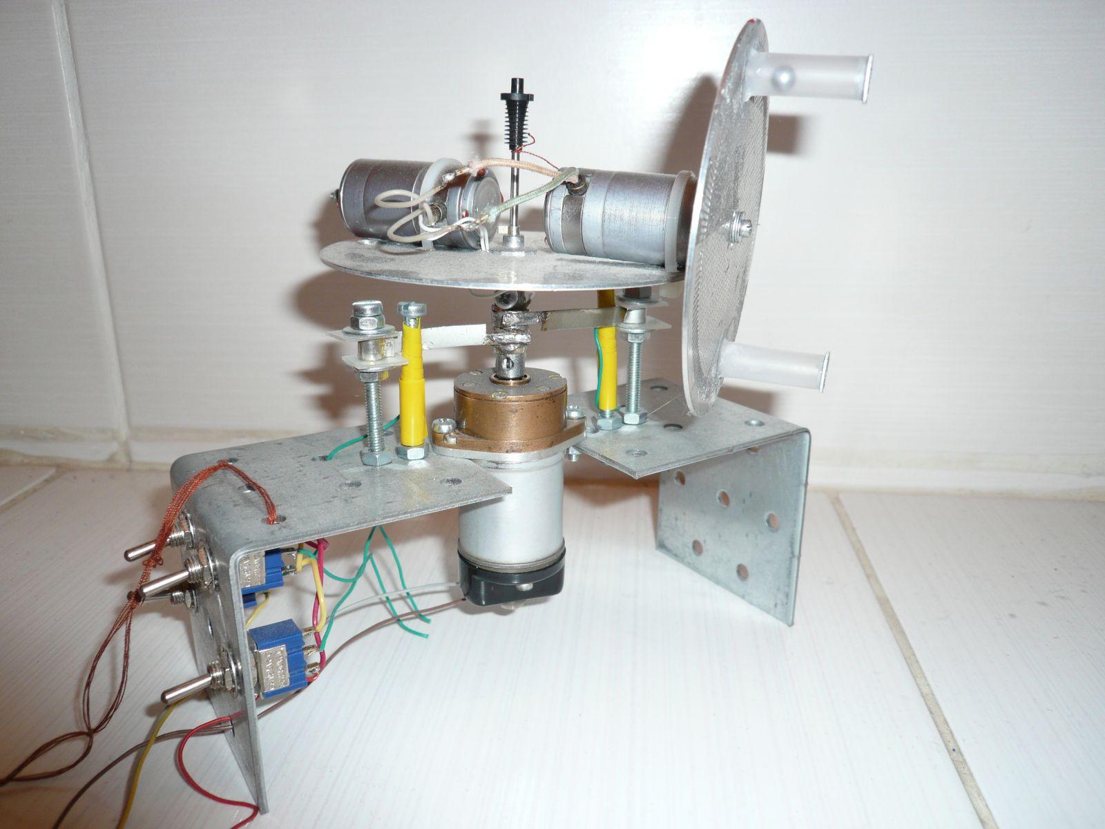 Попытка создания устройства безопорной тяги