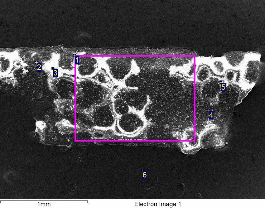 Эксперименты с циркониевыми электродами. Часть II. Результаты SEM EDS анализа